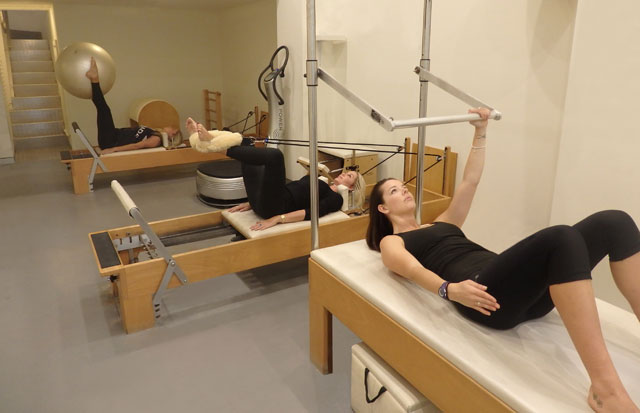 Pilates semi private class