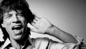 Mick Jagger and Pilates